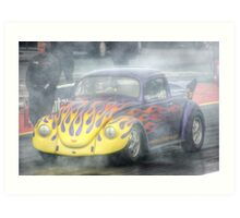 Up In Flames Art Print