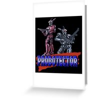 Probotector Greeting Card