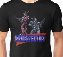 Probotector - SNES Title Screen Unisex T-Shirt