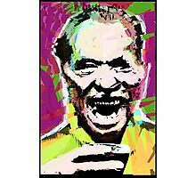 Charles Bukowski. The Wooden Butterfly. Photographic Print