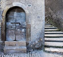 old door old town by dominiquelandau