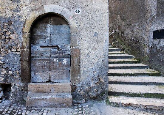 old door old town by dominiquelandau