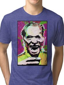 Charles Bukowski. The Wooden Butterfly. Tri-blend T-Shirt
