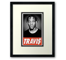 Travis Framed Print