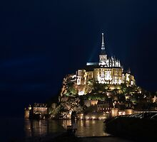 Mont Saint Michel by Christophe Faugere