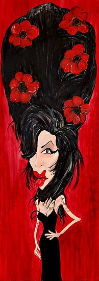 Amy Winehouse by Ben Jennings