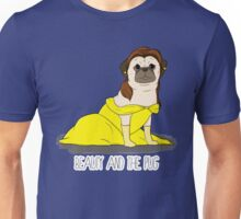 Beauty and the Pug Unisex T-Shirt
