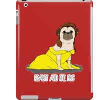 Beauty and the Pug iPad Case/Skin