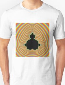 Psychedelic Mandelbrot pattern T-Shirt
