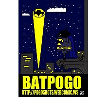 Bat Pogo Photographic Print