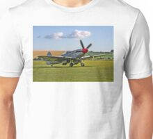 Spitfire FR.XVIIIe SM845/R G-BUOS taxying in Unisex T-Shirt