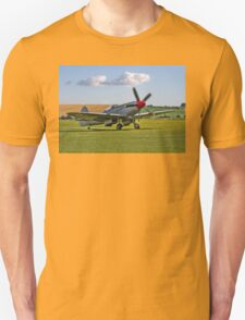 Spitfire FR.XVIIIe SM845/R G-BUOS taxying in T-Shirt