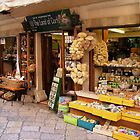 More shops in Corfu, Greece by John  McCoy