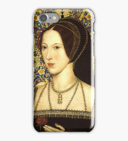 Anne Boleyn, Queen of England iPhone Case/Skin