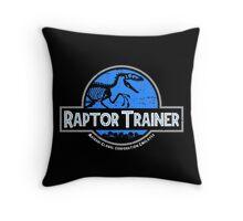 Jurassic World Raptor Trainer Throw Pillow
