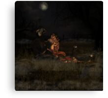 Beauty and the Beast Canvas Print