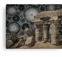Ancient Ruins of the Future Canvas Print
