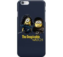 Game of thrones the despicable watch iPhone Case/Skin