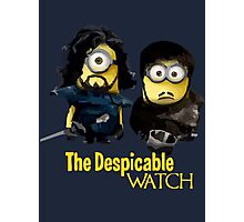 Game of thrones the despicable watch Photographic Print