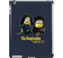 Game of thrones the despicable watch iPad Case/Skin