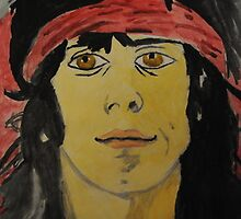 keith richards painting zoomed by mariana95