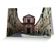 Siena, Italy Greeting Card