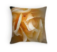 Middle aged rose Throw Pillow