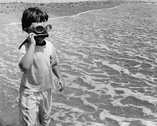 Goggle Man by Christine Corrigan