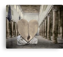 At the Colonnade Canvas Print