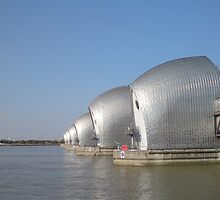 Thames Barrier by Patrick Noble