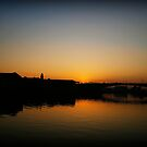 Glasgow Clydeside Sunset by Daniel Davison