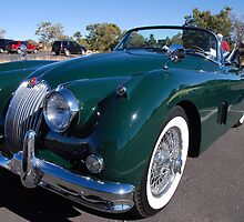 Cars as art: Jaguar 1956 XK 150 by John Schneider