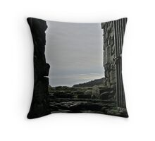 To the Cliffs - Aran Islands Throw Pillow