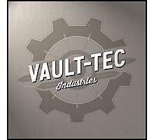 Fallout Vault Tec Industries Photographic Print