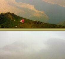 Misty Snowdon from top to bottom Sticker
