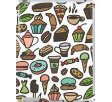 Coffee and pastry.  iPad Case/Skin