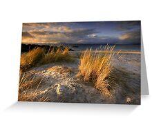 Scotland : Ben's Beach Greeting Card