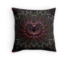 The way to the Heart Throw Pillow