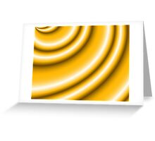 Butterscotch Frappe Greeting Card