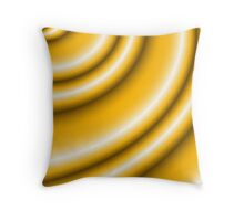 Butterscotch Frappe Throw Pillow
