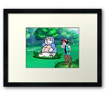 Big Hero 6 Pokemon Framed Print
