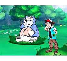Big Hero 6 Pokemon Photographic Print
