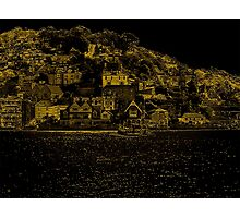 Hillside Buildings Near Dartmouth Photographic Print