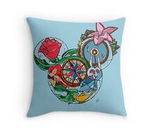 Disney Princesses Throw Pillow