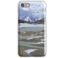 Glaciers on the Bernina Pass  iPhone Case/Skin