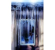 Stalagtices Photographic Print