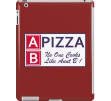 AB Pizza (Bad Blood) iPad Case/Skin