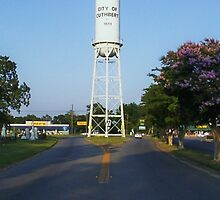 Strange Place for a Water Tower by Susan Russell