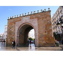 Gateway to the Medina in Tunis Photographic Print