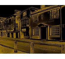 The Streets Of Brixham Photographic Print